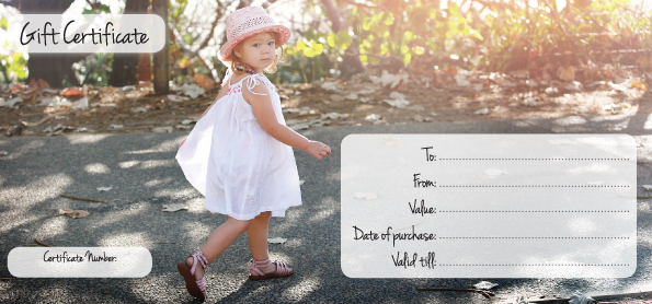 Gift Vouchers Shannon Elise Photography – How to Make Vouchers