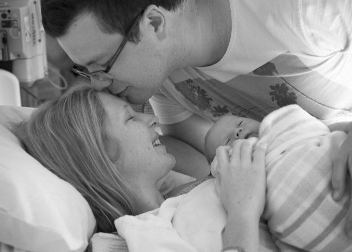 Newborn Baby - Kiss