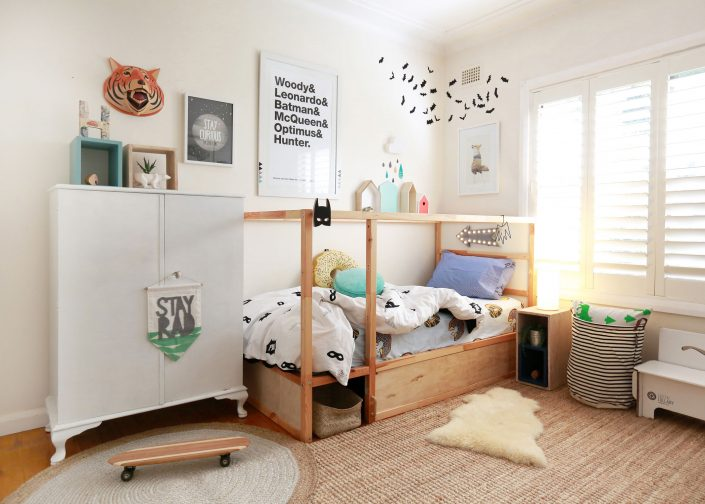 interior decorated childrens room